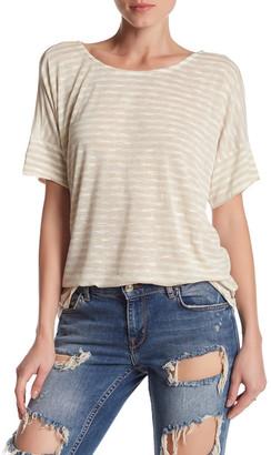 Bobeau Jaslyn Boxy Knit Shirt $54 thestylecure.com