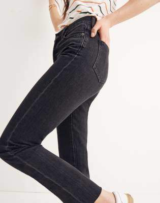 5bc1119af099 Madewell The Perfect Summer Jean in Crawley Black Wash