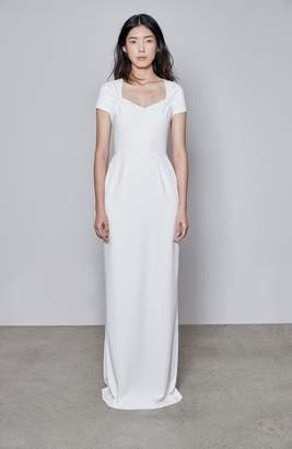 Stella McCartney F18 Rose Cap Sleeve Wedding Dress