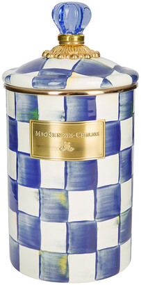 Mackenzie Childs MacKenzie-Childs - Royal Check Canister - Large