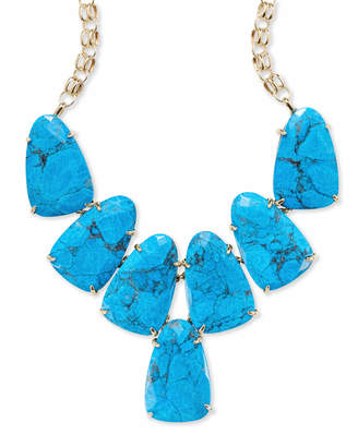 Kendra Scott Harlow Statement Necklace in Gold