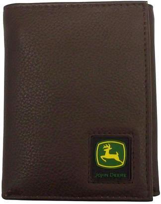 John Deere Leather Trifold Wallet