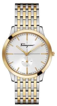 Salvatore Ferragamo Slim Formal Bracelet Watch, 40mm
