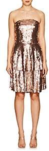Osman Women's Franzi Sequined Strapless Dress - Bronze
