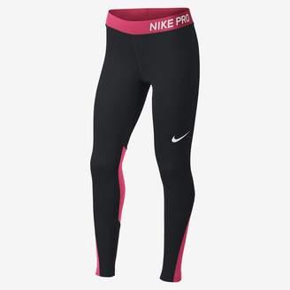 Nike Pro Big Kids' (Girls') Training Tights