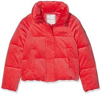 Tommy Hilfiger Girl's Velvet Puffer Jacket