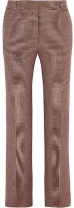 Paul & Joe Houndstooth Tweed Slim-leg Pants - Brown