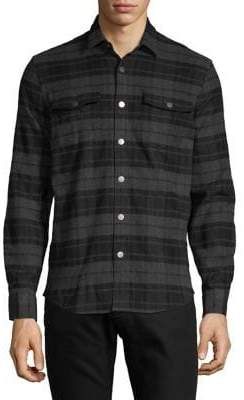 Black & Brown Black Brown Classic Plaid Button-Down Shirt