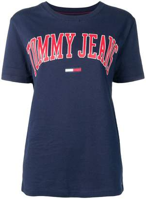 Tommy Jeans logo print crew neck T-shirt
