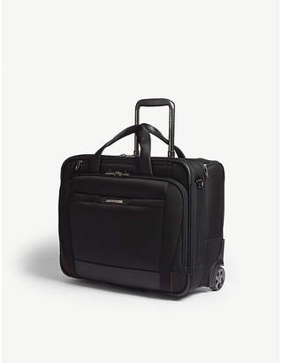 Samsonite Black Pro5Lx Two Wheeled Rolling Tote Bag 40cm