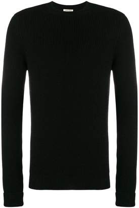 Al Duca D'Aosta 1902 rib knit fitted sweater