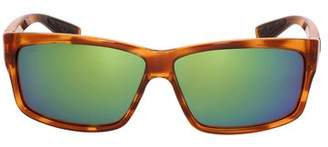 Costa del Mar Costa Cut Plastic Frame Green Mirror Lens Men's Sunglasses UT51OGMGLP