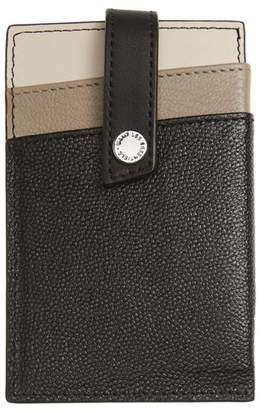 WANT Les Essentiels Kenny Money Clip Card Case
