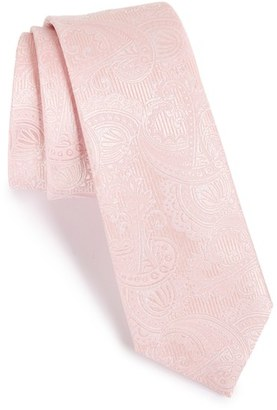 Men's The Tie Bar Textured Paisley Silk Tie $19 thestylecure.com