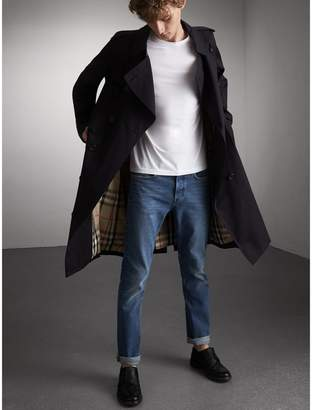 Burberry Straight Fit Stretch Japanese Denim Jeans