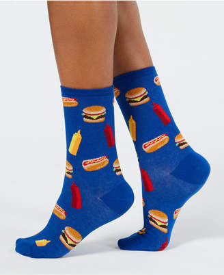 Hot Sox Women's Bbq Food Socks