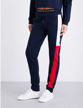 Tommy Hilfiger Athletica jersey jogging bottoms $59 thestylecure.com