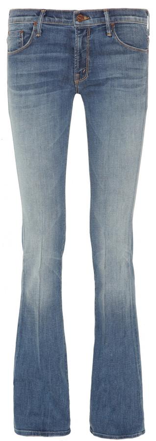 Mother The Slacker flared jeans