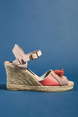 Meher Kakalia Queen Yuca Wedge Sandals