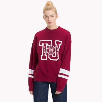 Tommy Hilfiger Boyfriend Varsity Sweatshirt