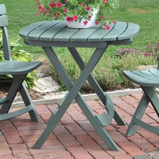 Andover Mills Quebec Folding Resin Bistro Table