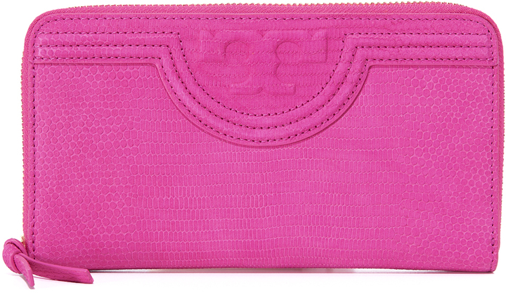 Tory Burch Tory Burch Fleming Zip Continental Wallet
