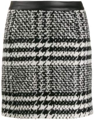 Redemption houndstooth mini skirt