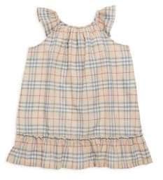 Burberry Baby's Tania Plaid-Print Shift Dress