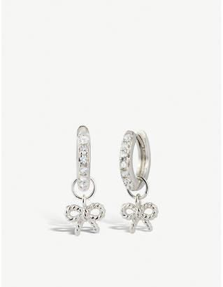Olivia Burton Sterling silver hoop earrings
