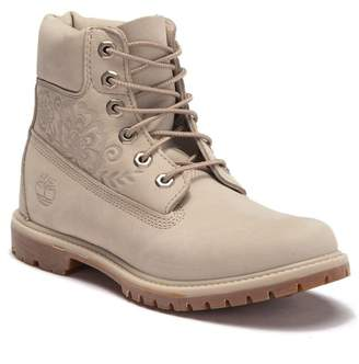 "Timberland 6"" Premium Embossed Leather Boot"