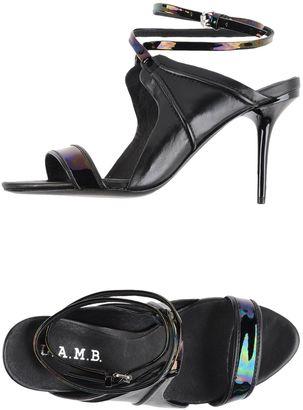 L.A.M.B. Sandals $393 thestylecure.com