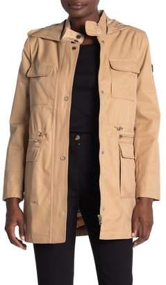 DKNY Hooded Utility Anorak Jacket