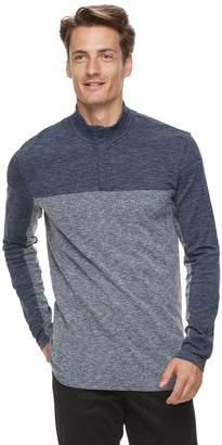 Marc Anthony Men's Regular-Fit Colorblock Quarter-Zip Pullover