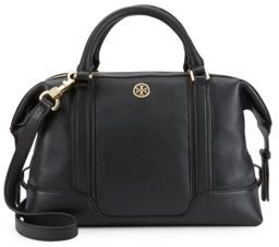 Landon Top Handle Leather Tote