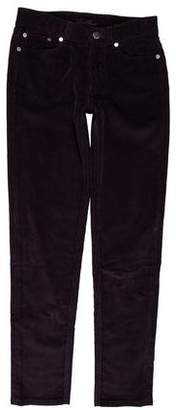 Loro Piana Corduroy Mid-Rise Pants