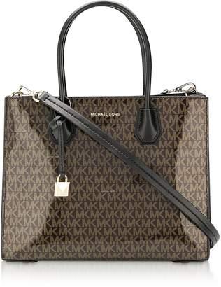 f227c5b461ea Michael Kors Monogram Mercer Large Convertible Tote Bag
