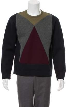 Valentino Woven Crew Neck Sweater