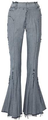 Norma Kamali Denim trousers