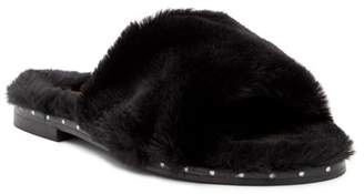 Kenneth Cole New York Peggy Faux Fur Slide