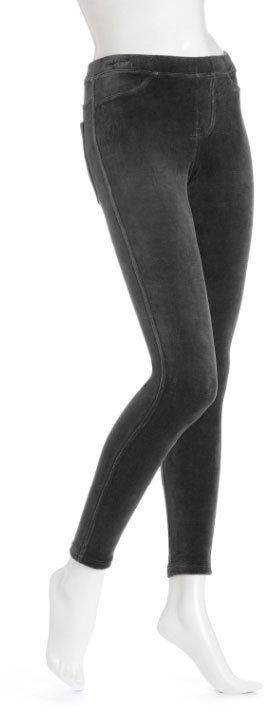 Hue Cotton Velvet Leggings