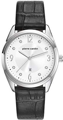 Pierre Cardin Womens Analogue Classic Quartz Watch with Leather Strap PC107862F01