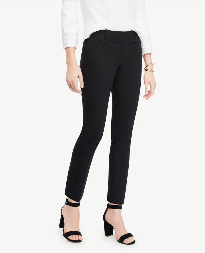 Ann Taylor The Tall Crop Pant - Devin Fit