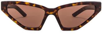 Prada Skinny Sunglasses in Havana | FWRD