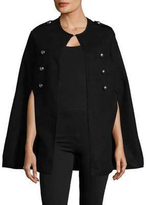 Collection 18 Buttoned Cape