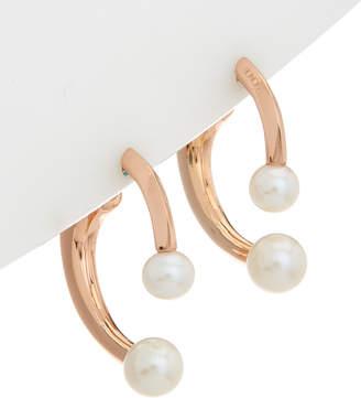 Honora Plated 6-7.5Mm Pearl Earrings