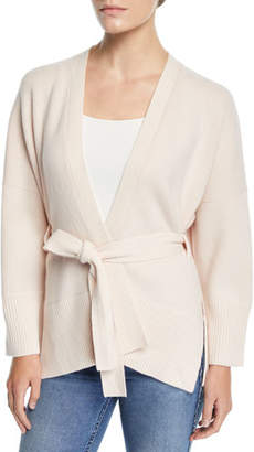 Club Monaco Aldoh Belted Cashmere Dropped-Shoulder Cardigan
