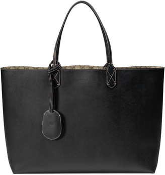 reversible GG leather tote $1,250 thestylecure.com