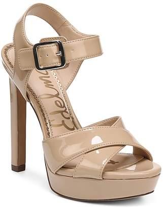 Sam Edelman Women's Willa Patent Leather Platform High-Heel Sandals