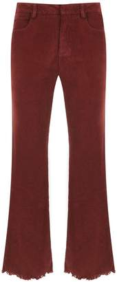 Egrey cropped jeans