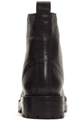 Frye Julie Front-Zip Leather Boots